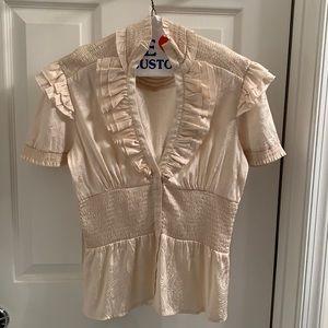 B2GOFREE 🍭 BeBe blouse SzS